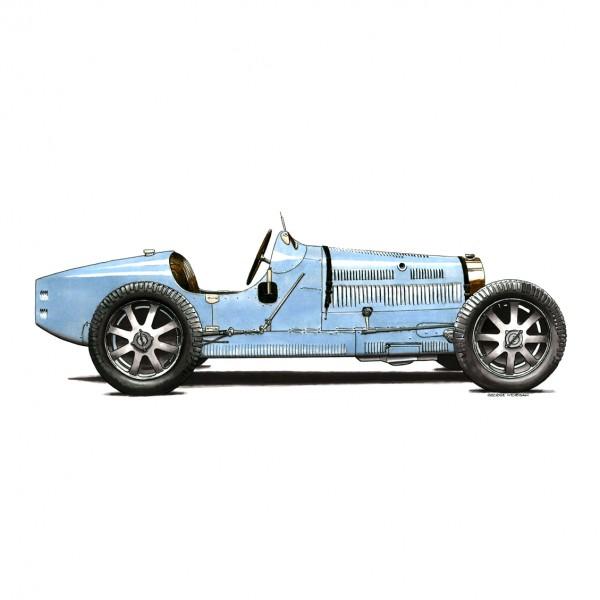 Bugatti Type 35B SUB
