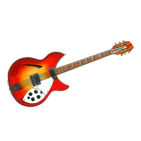 George Harrison Rickenbacker