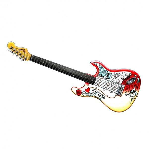 Jimi Hendrix Fender Stratocaster