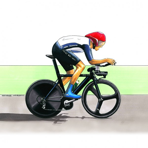 Wiggins Time Trial