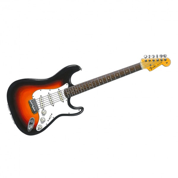 Bob Dylan Newport Stratocaster